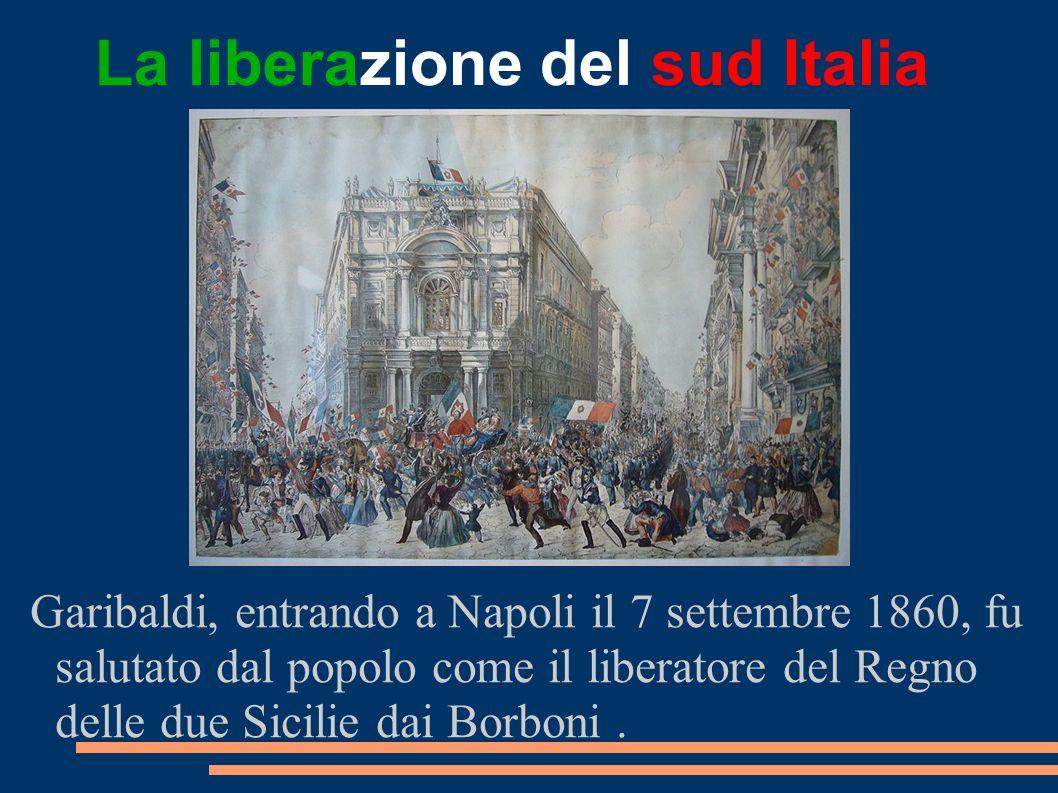 La liberazione del sud Italia
