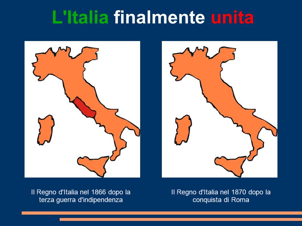 L Italia finalmente unita