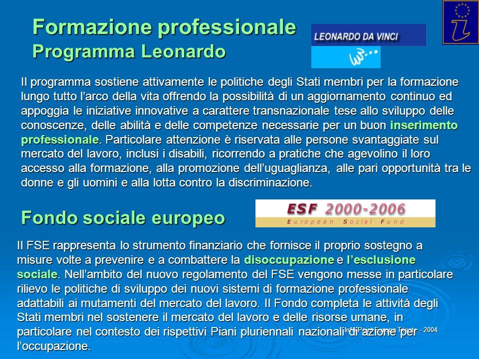 Formazione professionale Programma Leonardo