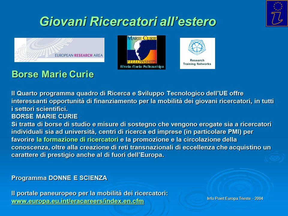 Info Point Europa Trieste - 2004