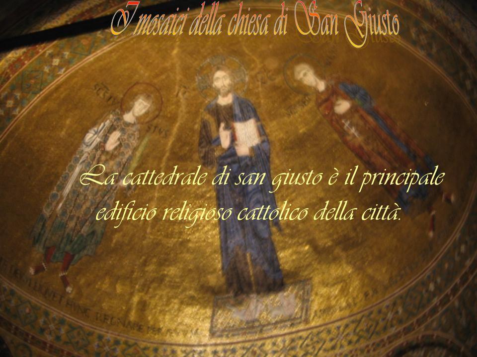I mosaici della chiesa di San Giusto