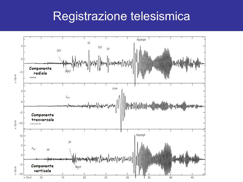Registrazione telesismica