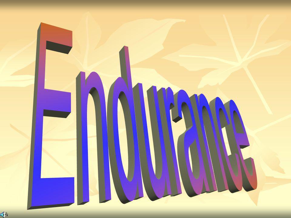 Endurance MOMENTO IMPORTANTE E SOLENNE - IL CULMINE DEL NOSTRO SAPER FARE BENE