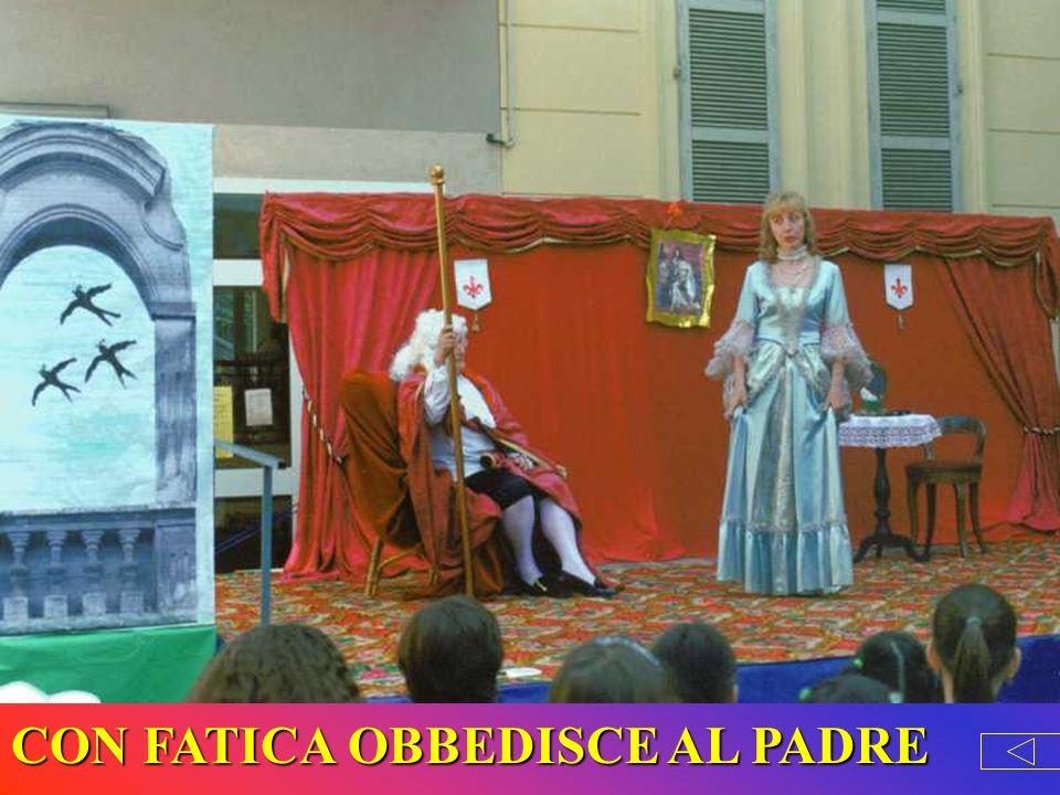 CON FATICA OBBEDISCE AL PADRE