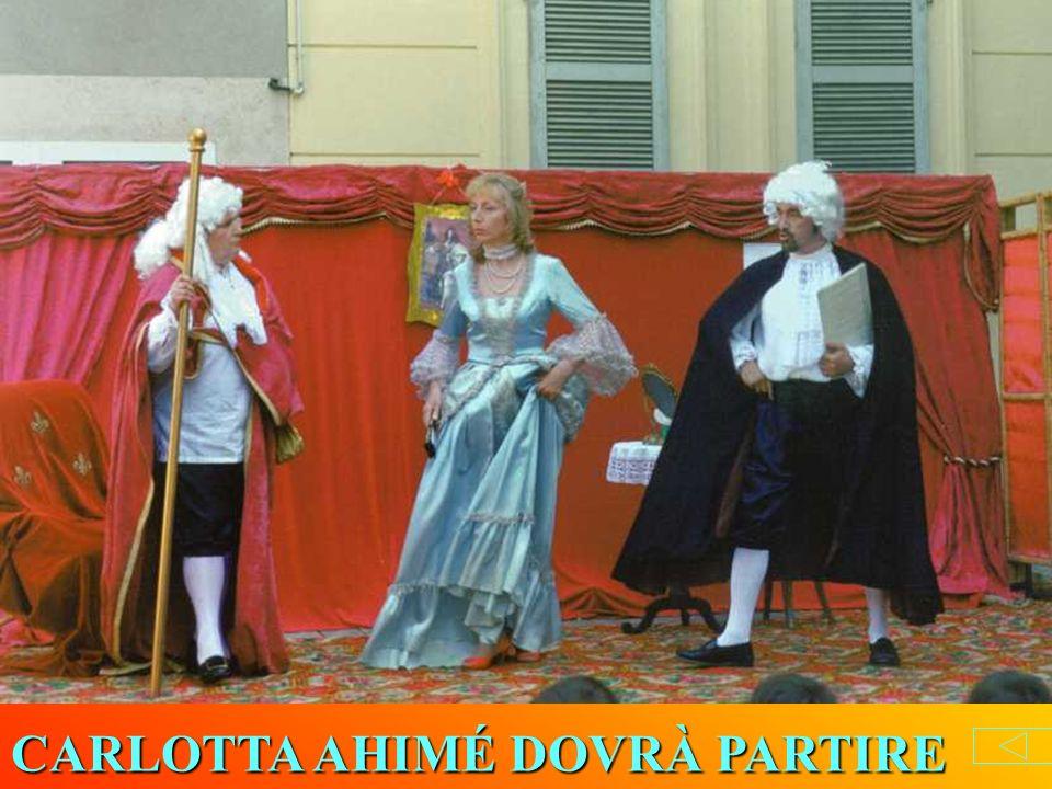 CARLOTTA AHIMÉ DOVRÀ PARTIRE