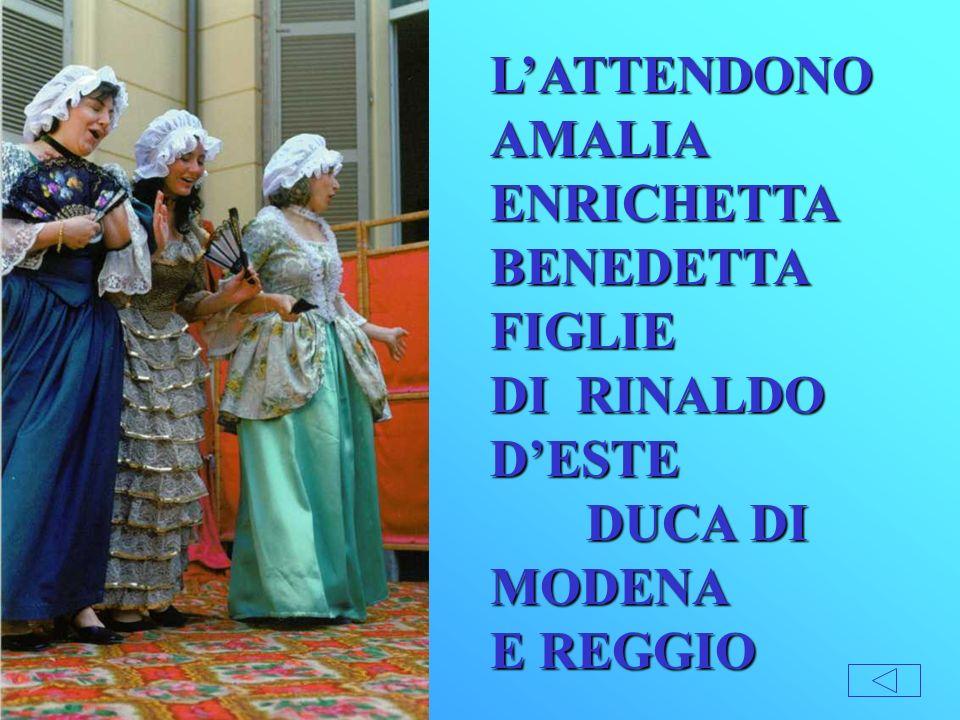 L'ATTENDONO AMALIA ENRICHETTA BENEDETTA FIGLIE. DI RINALDO D'ESTE