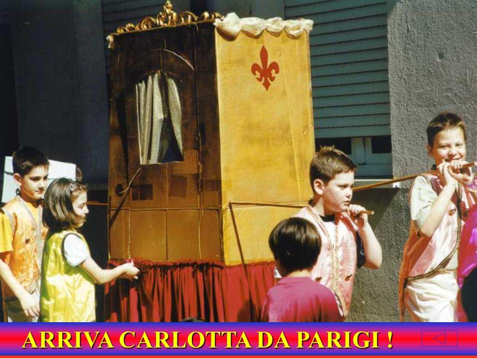 ARRIVA CARLOTTA DA PARIGI !