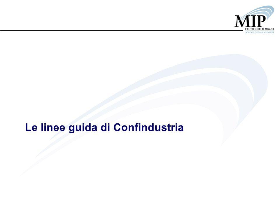 Le linee guida di Confindustria