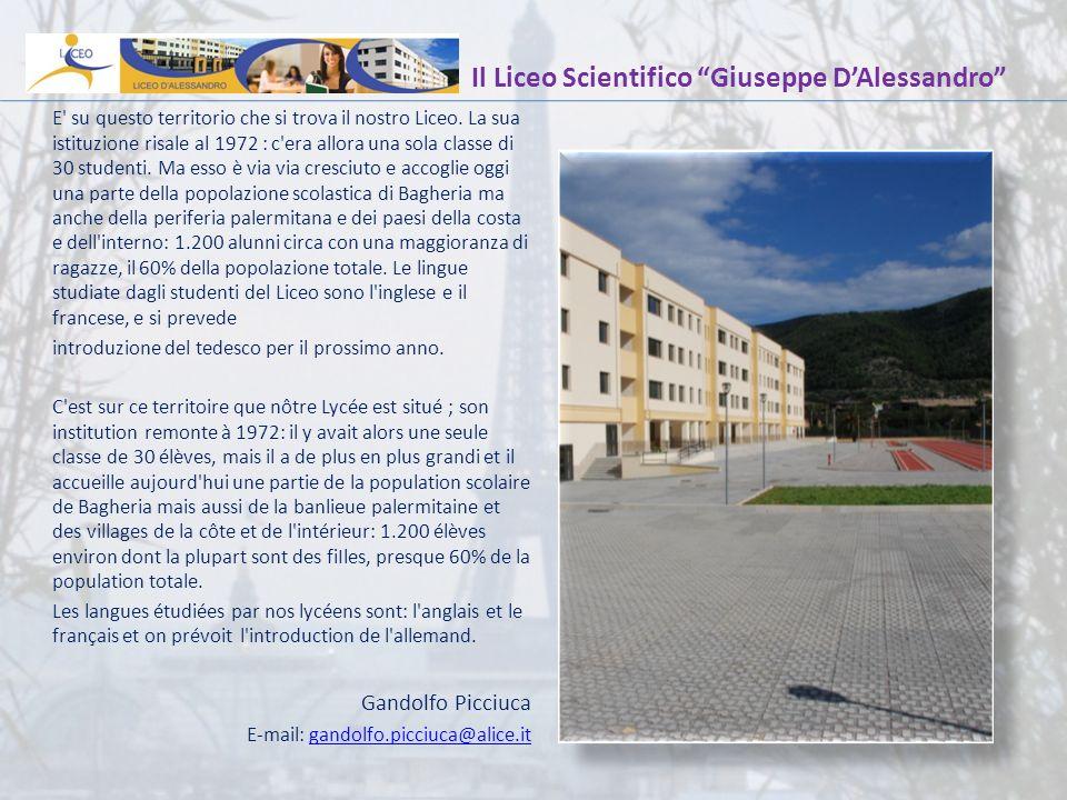 Il Liceo Scientifico Giuseppe D'Alessandro