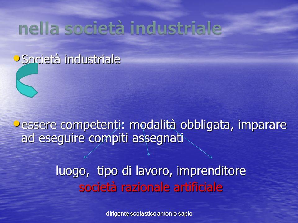 nella società industriale