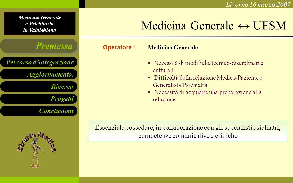 Medicina Generale ↔ UFSM