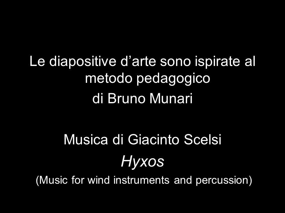 Hyxos Le diapositive d'arte sono ispirate al metodo pedagogico