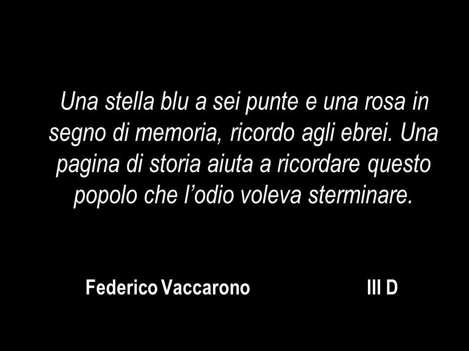 Federico Vaccarono III D
