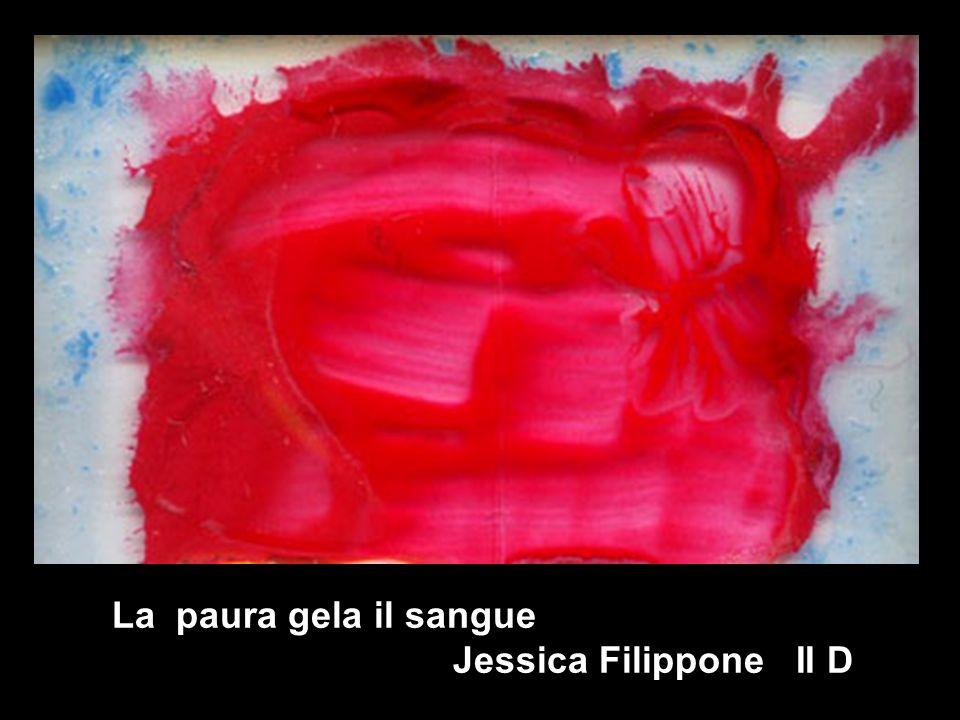 La paura gela il sangue Jessica Filippone II D la