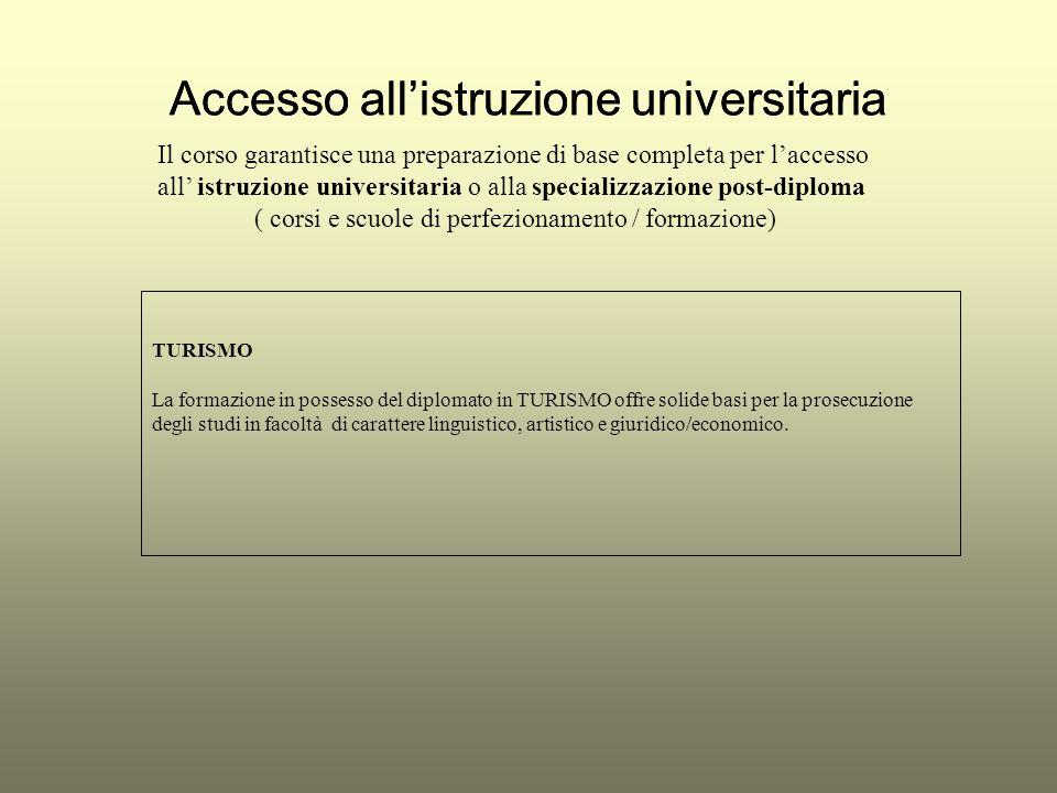 Accesso all'istruzione universitaria