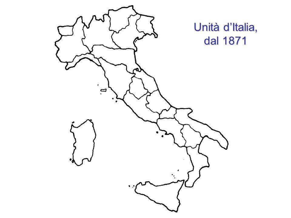 Unità d'Italia, dal 1871