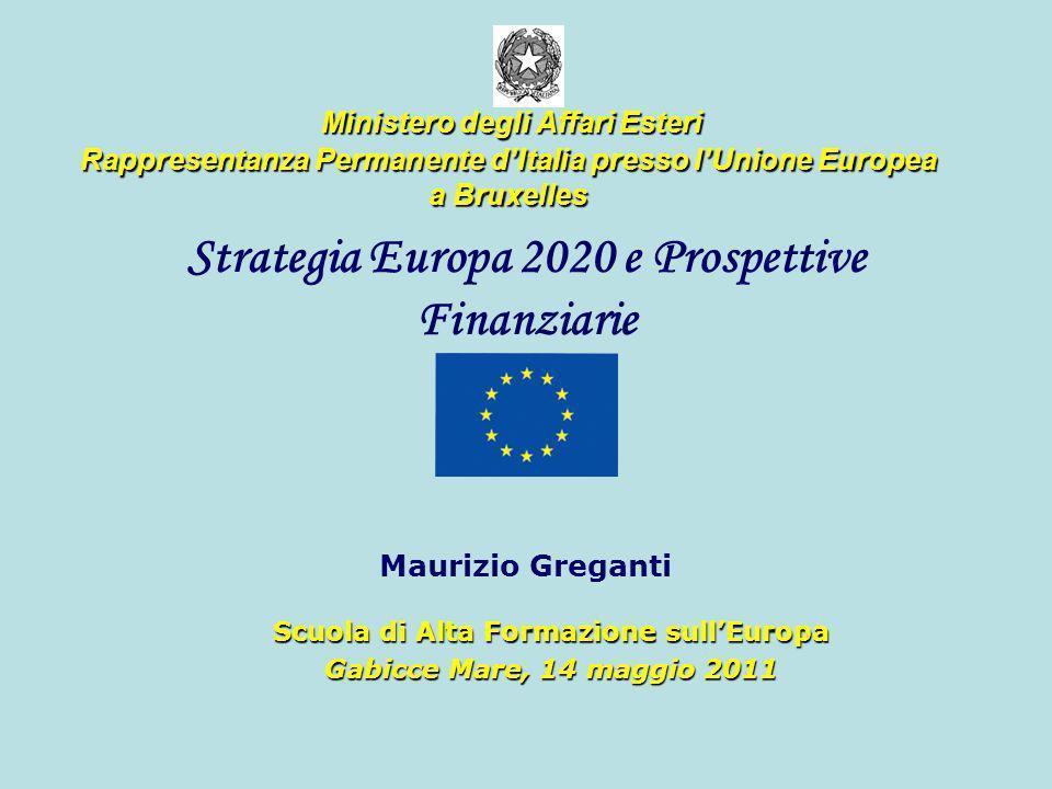 Strategia Europa 2020 e Prospettive Finanziarie Maurizio Greganti