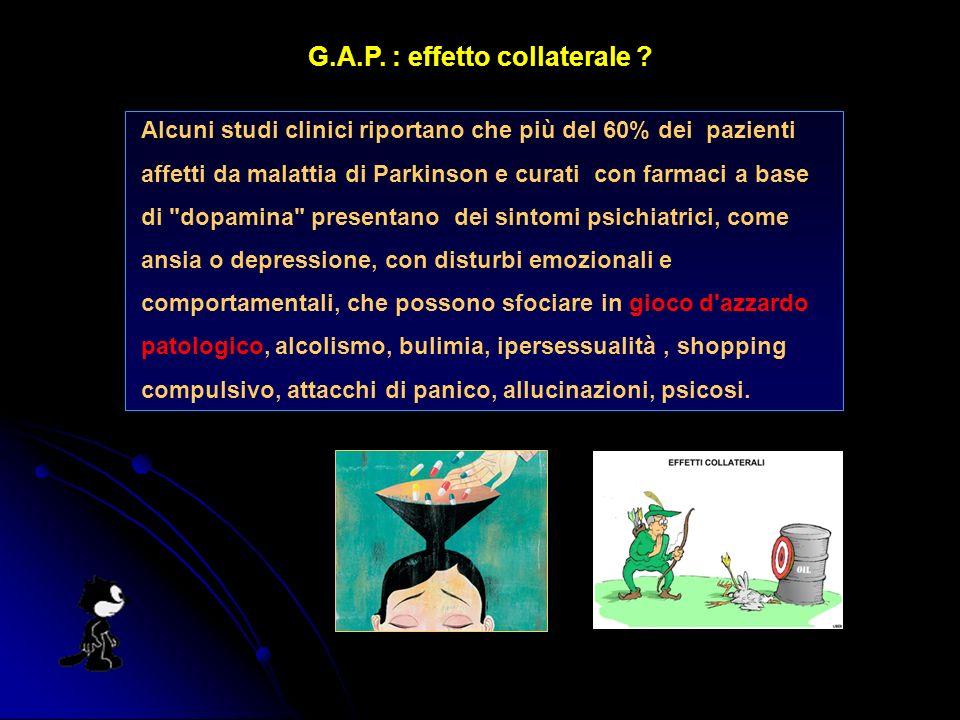 G.A.P. : effetto collaterale