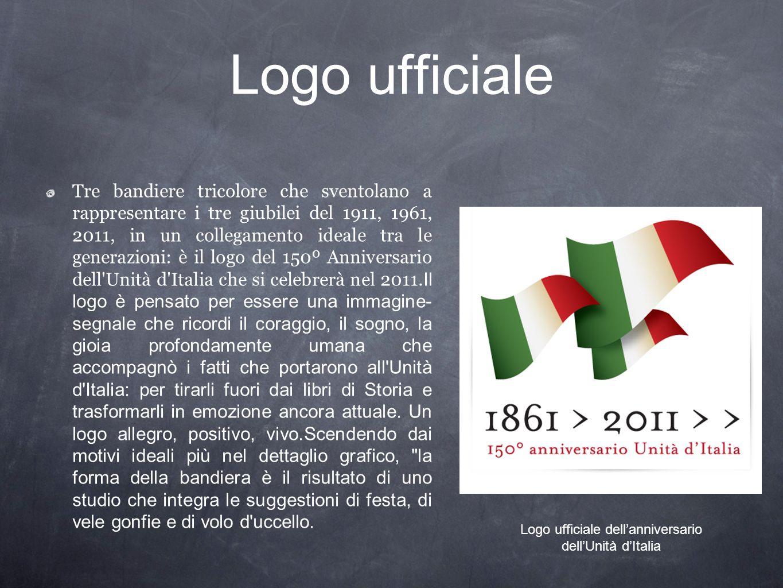 Logo ufficiale dell'anniversario dell'Unità d'Italia