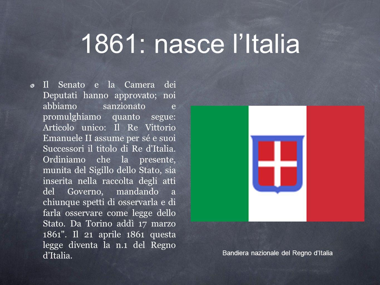 Bandiera nazionale del Regno d'Italia