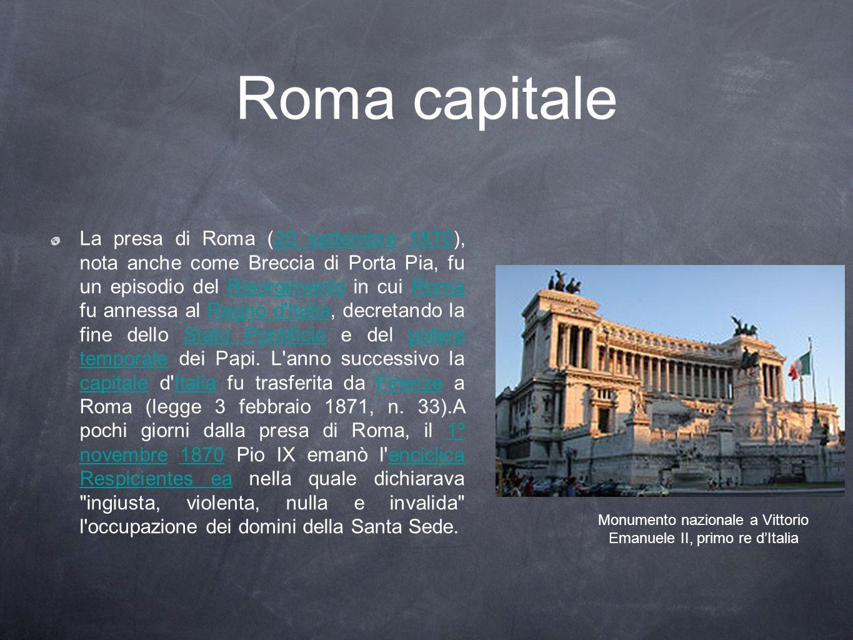 Monumento nazionale a Vittorio Emanuele II, primo re d'Italia