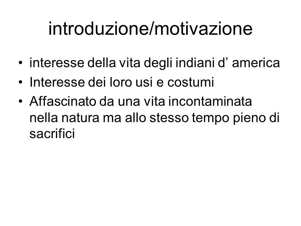introduzione/motivazione