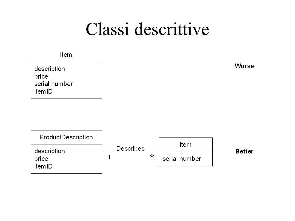 Classi descrittive