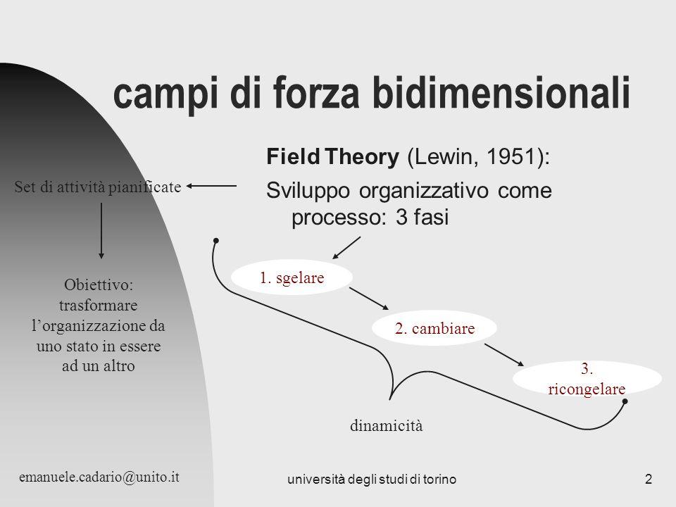 campi di forza bidimensionali