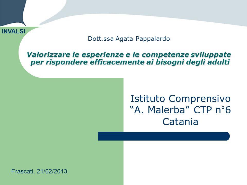 Istituto Comprensivo A. Malerba CTP n°6 Catania
