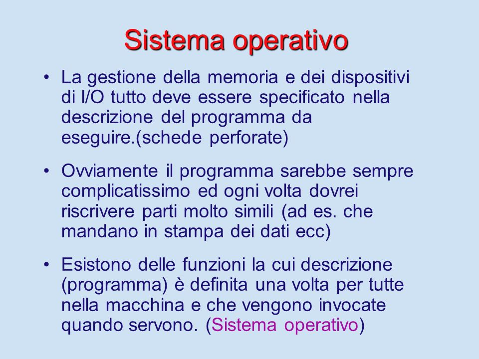 Sistema operativo