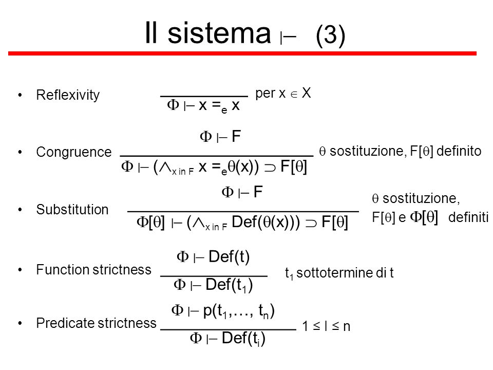 Il sistema |- (3) _________ ____________________
