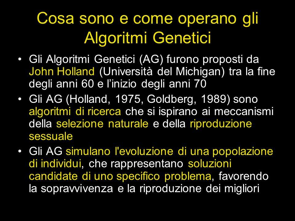 Cosa sono e come operano gli Algoritmi Genetici