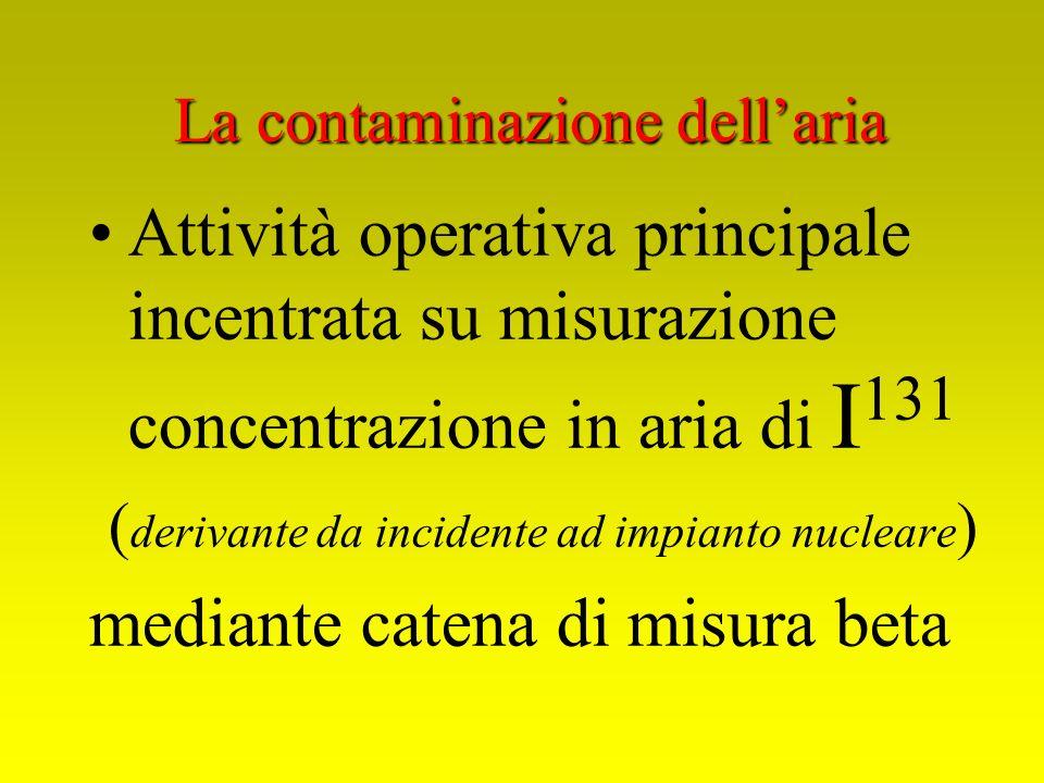 La contaminazione dell'aria