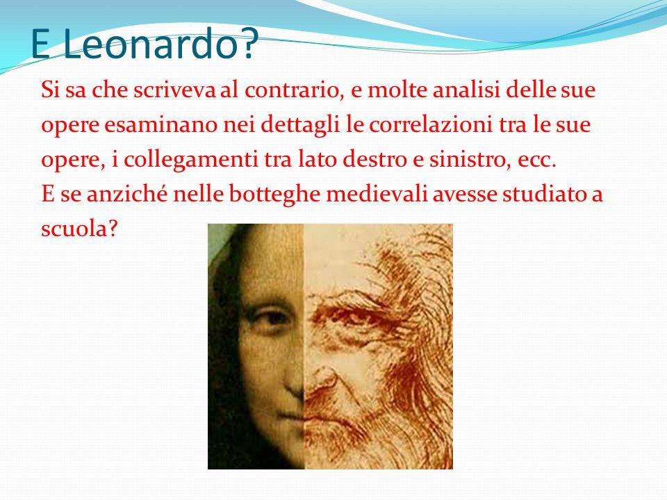 E Leonardo