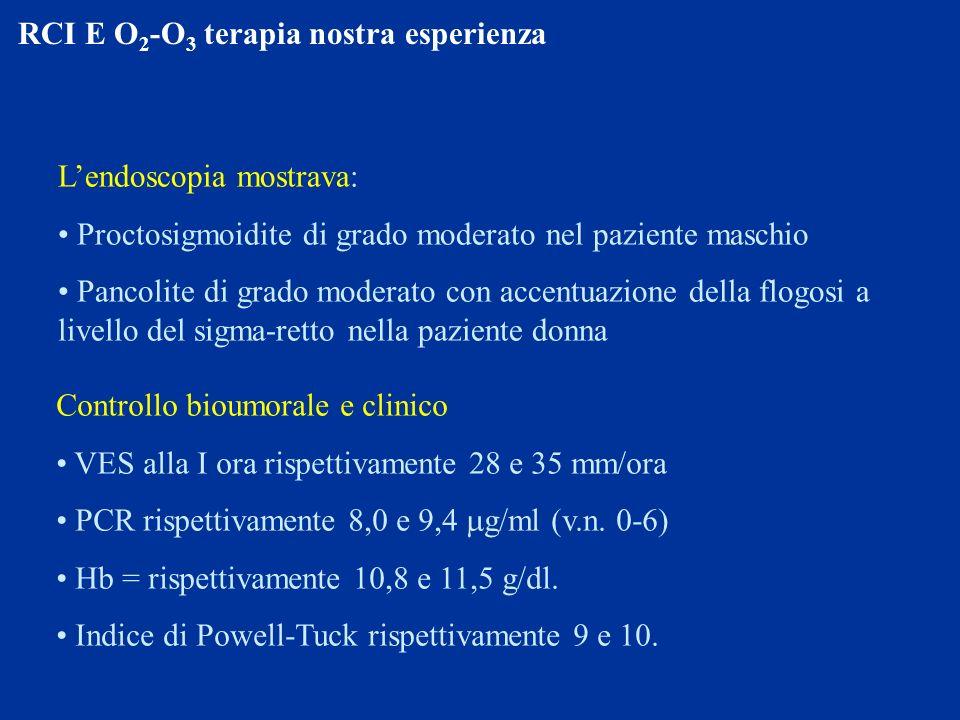 RCI E O2-O3 terapia nostra esperienza