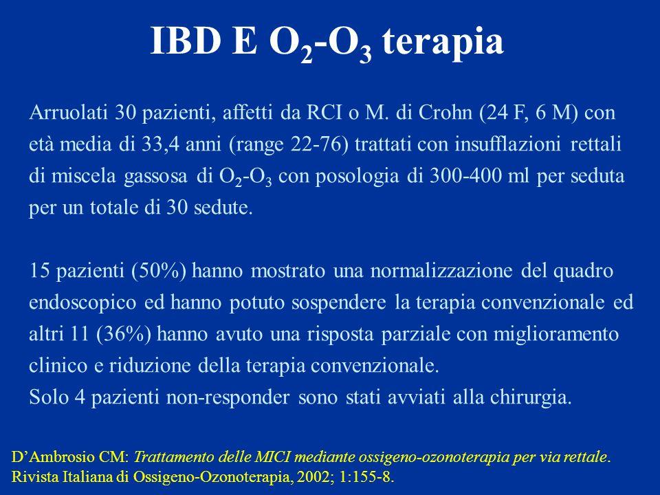 IBD E O2-O3 terapia