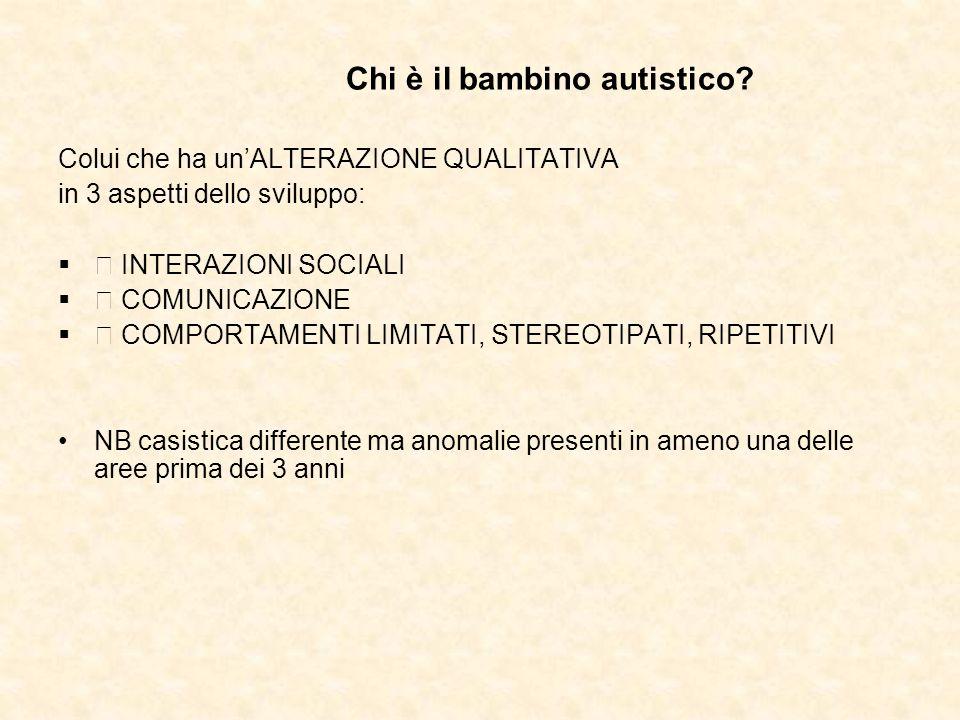 Chi è il bambino autistico