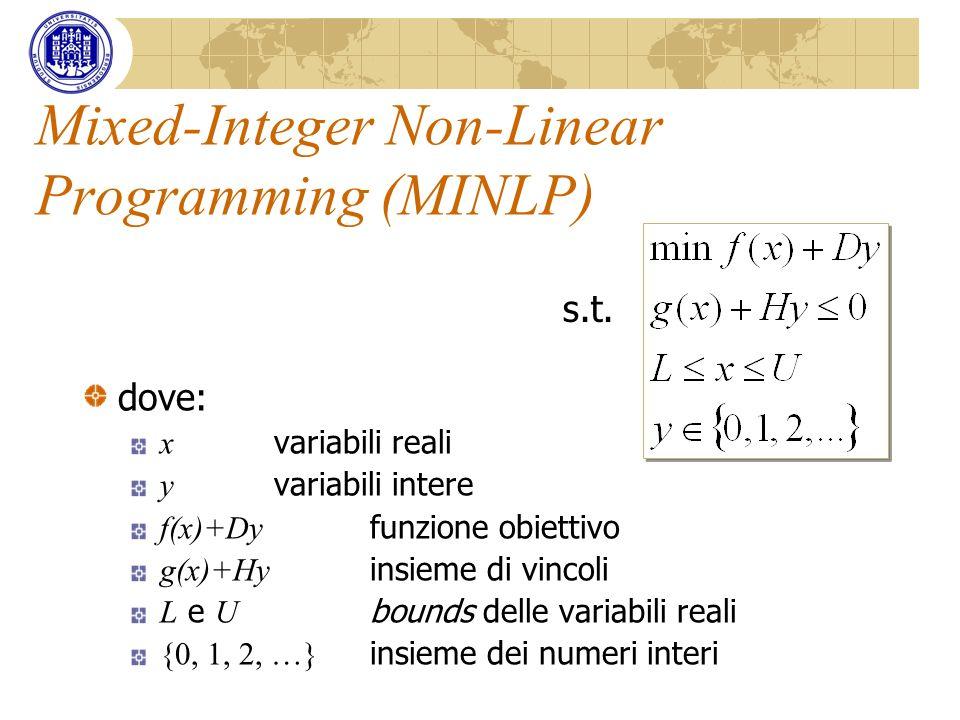 Mixed-Integer Non-Linear Programming (MINLP)