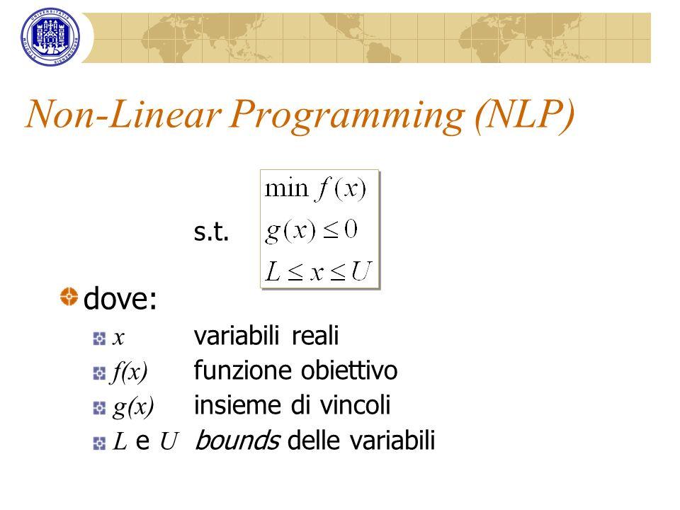 Non-Linear Programming (NLP)