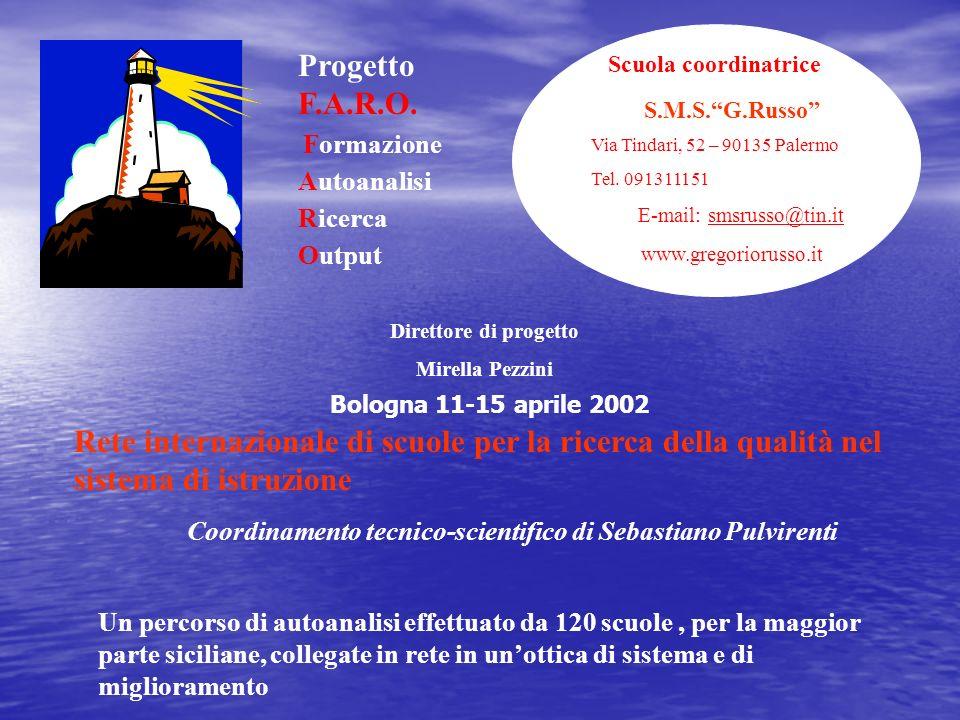 Coordinamento tecnico-scientifico di Sebastiano Pulvirenti