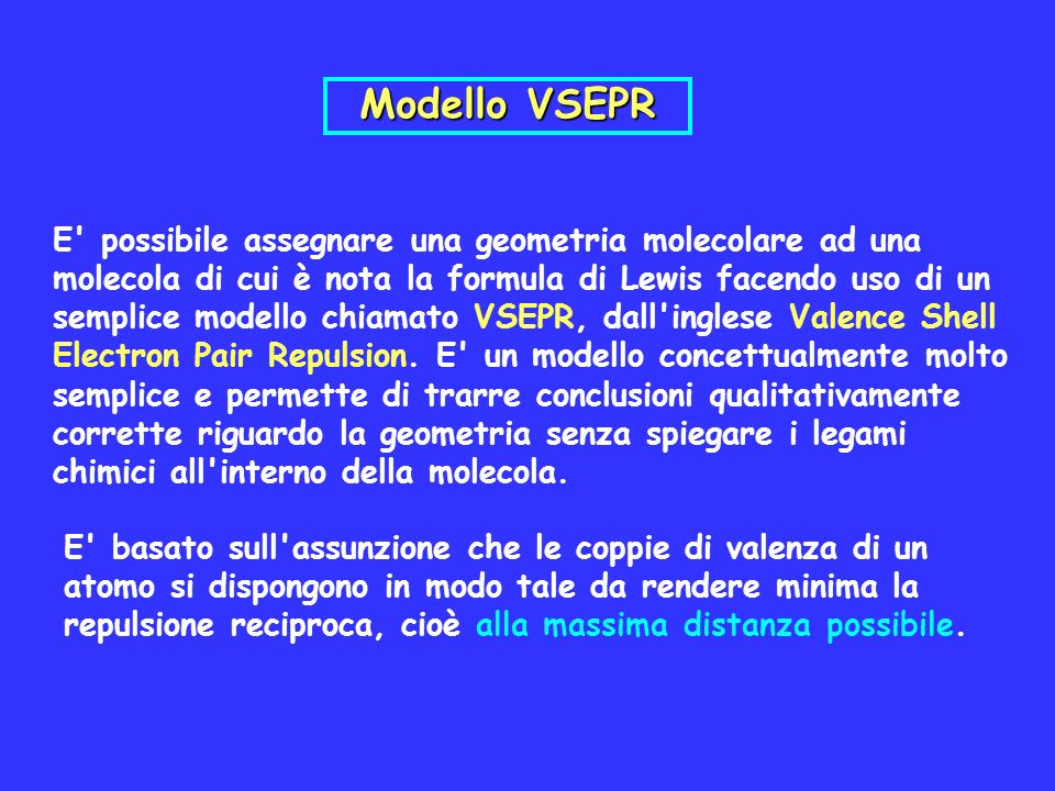 Modello VSEPR
