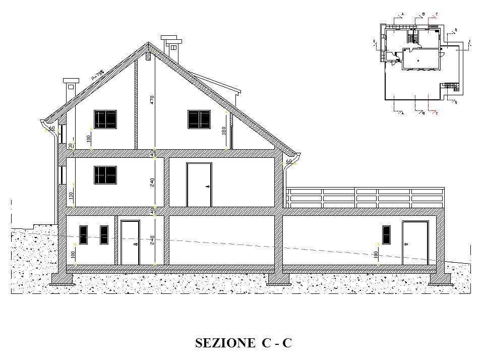 SEZIONE C - C