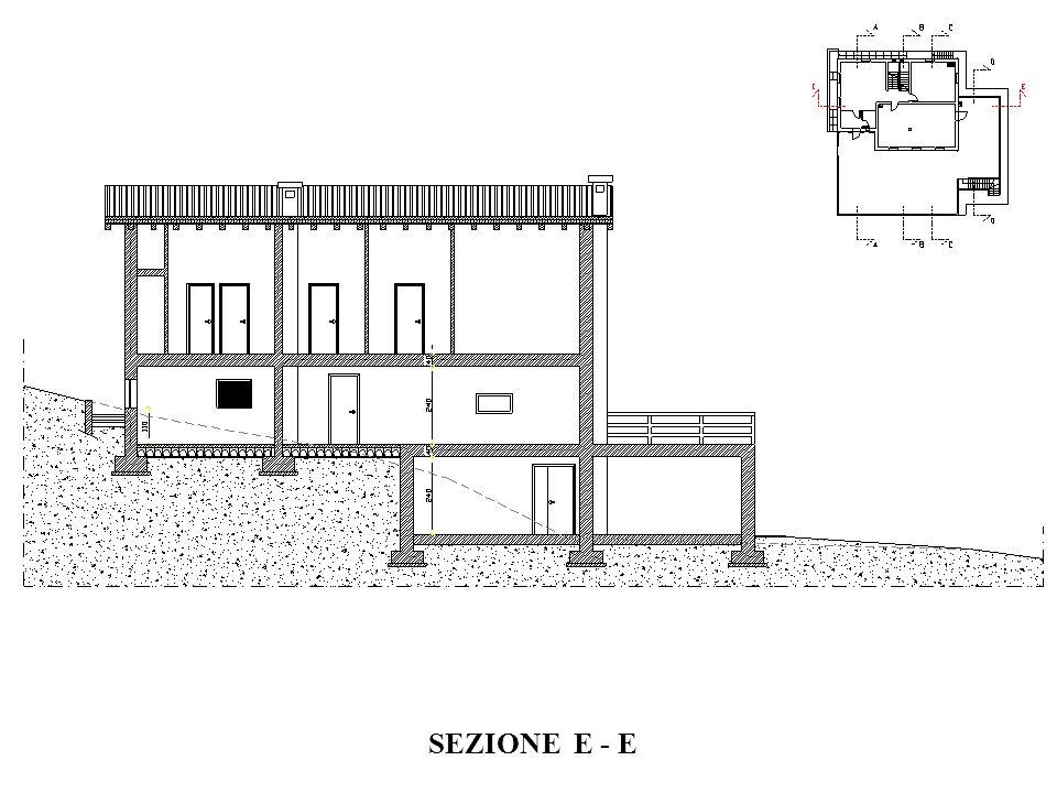 SEZIONE E - E