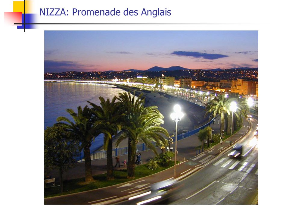 NIZZA: Promenade des Anglais