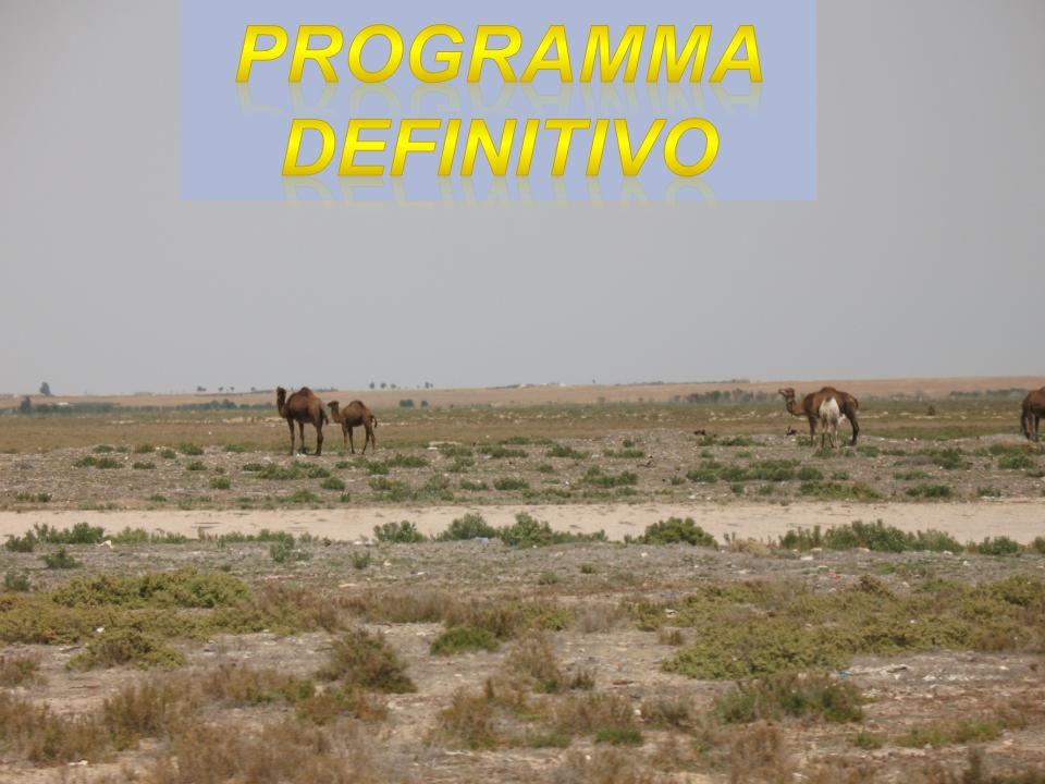 PROGRAMMA DEFINITIVO