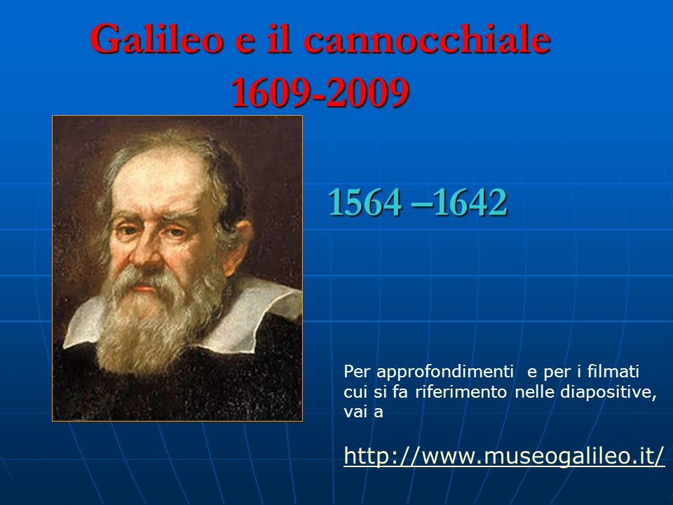 Galileo e il cannocchiale 1609-2009