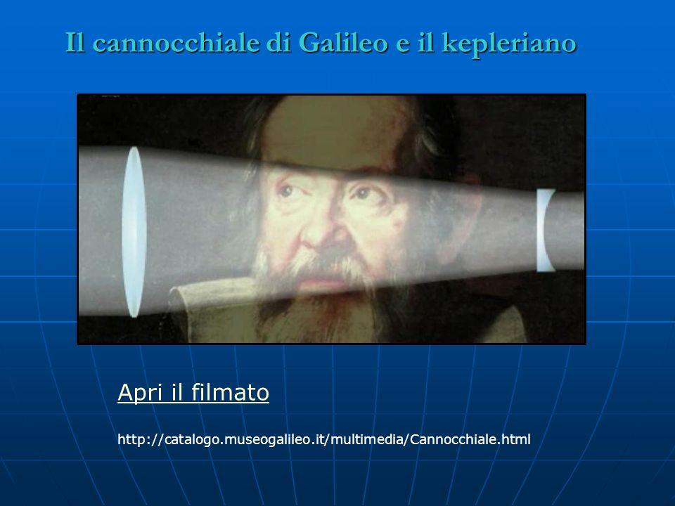 Il cannocchiale di Galileo e il kepleriano
