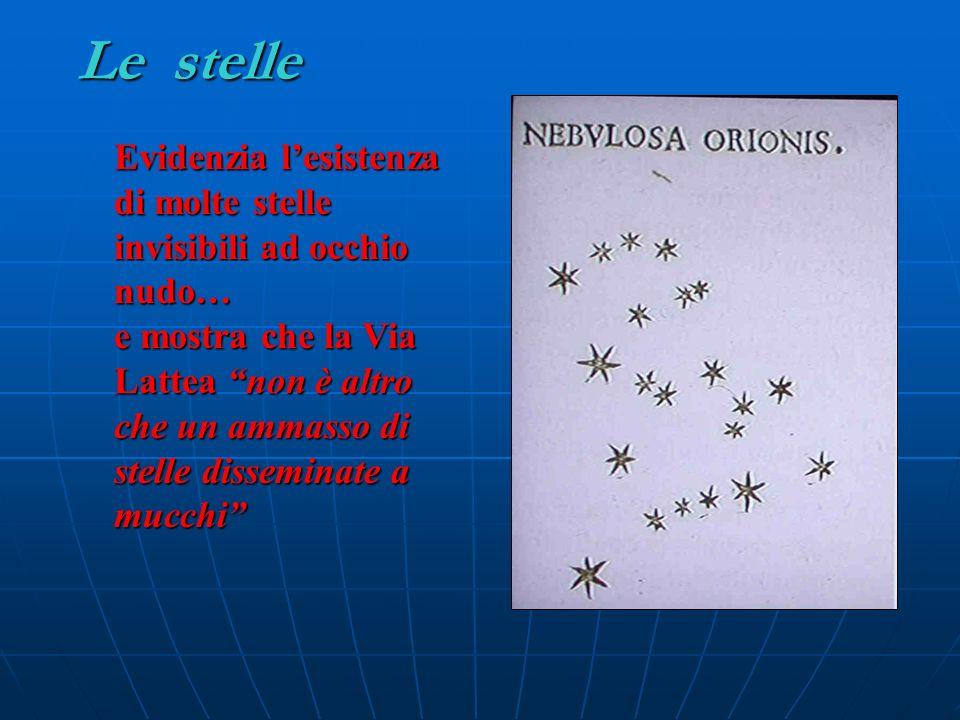 Le stelle Evidenzia l'esistenza di molte stelle invisibili ad occhio nudo…