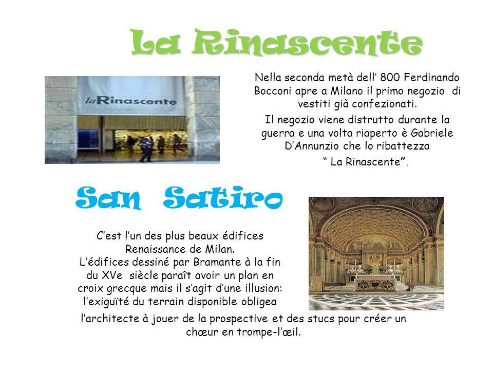 C'est l'un des plus beaux édifices Renaissance de Milan.