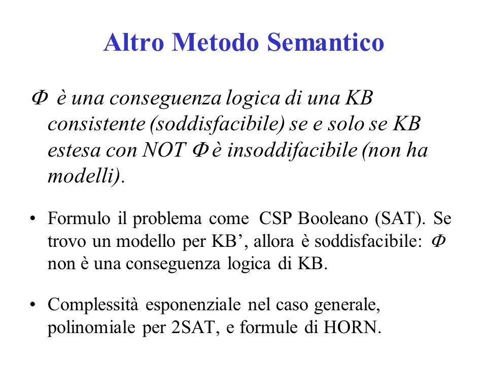Altro Metodo Semantico